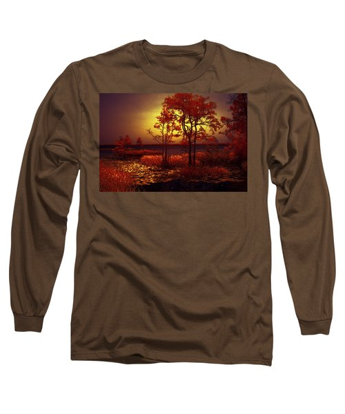 Moonlit Night Long Sleeve T-Shirt