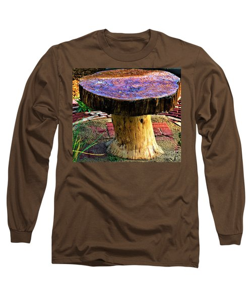 Mushroom Table Long Sleeve T-Shirt