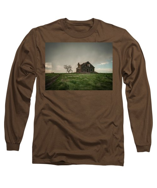 Nebraska Farm House Long Sleeve T-Shirt