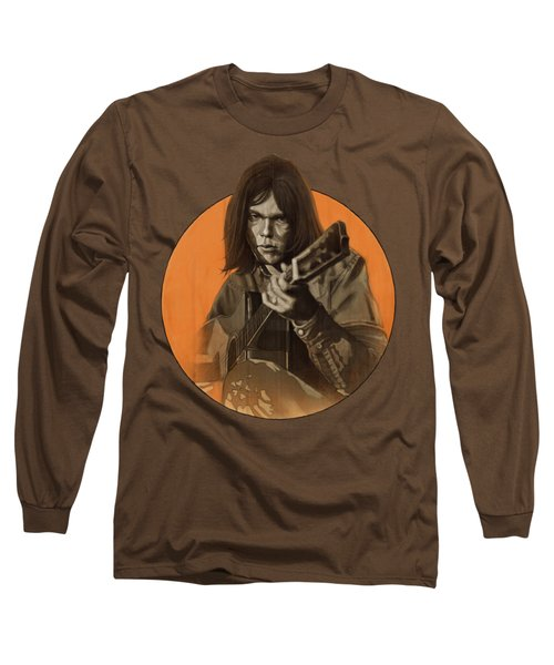 Neil Young Harvest Long Sleeve T-Shirt