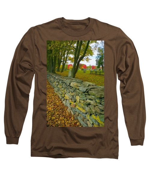 New England Stone Wall 2 Long Sleeve T-Shirt
