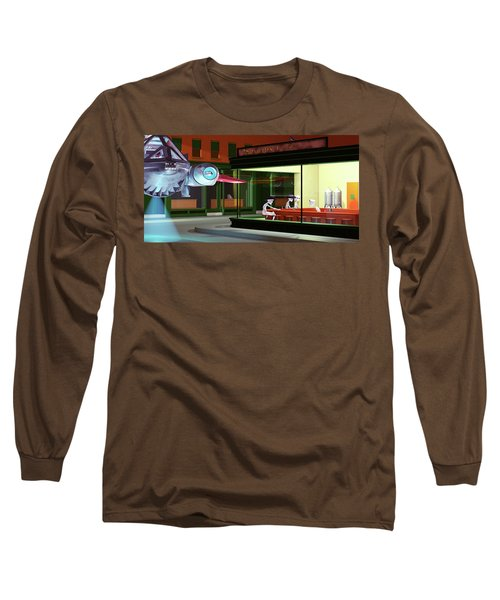Nighthawks Invasion Long Sleeve T-Shirt