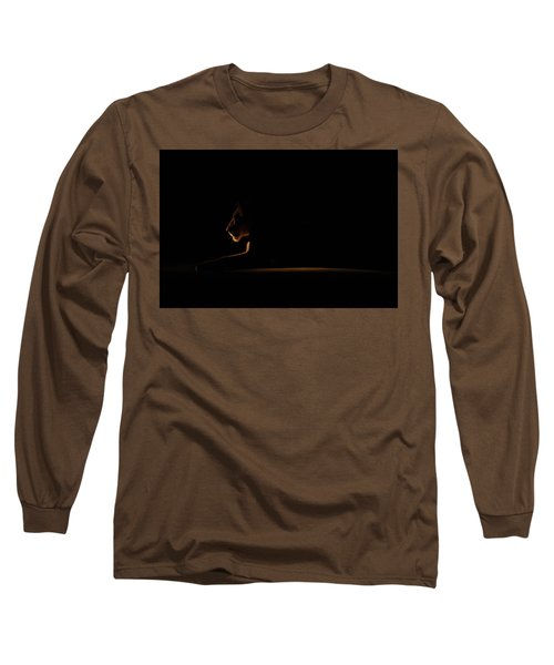 Outline African Lion Long Sleeve T-Shirt