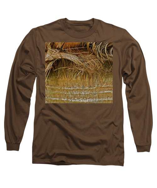 Palm Tree Straw 2 Long Sleeve T-Shirt