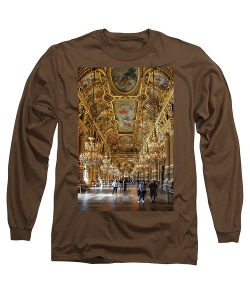 Long Sleeve T-Shirt featuring the photograph Paris Opera by Jim Mathis