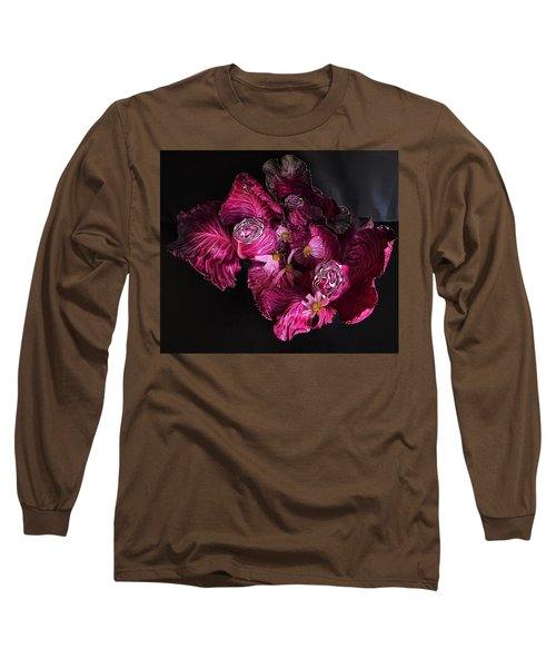 Red Cone Cabbage Long Sleeve T-Shirt