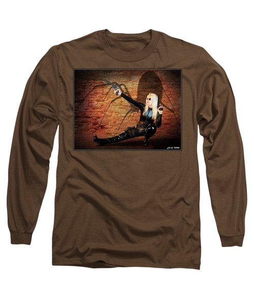 Rise Of The Black Widow Long Sleeve T-Shirt