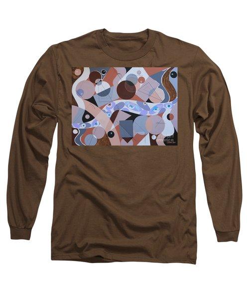 River Of Eyes Long Sleeve T-Shirt