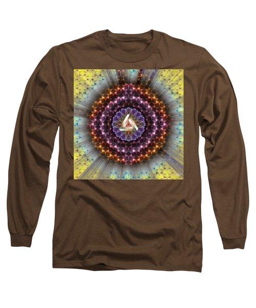 Sacred Geometry 742 Long Sleeve T-Shirt