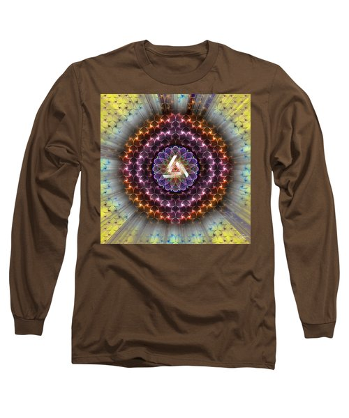 Sacred Geometry 742 Long Sleeve T-Shirt