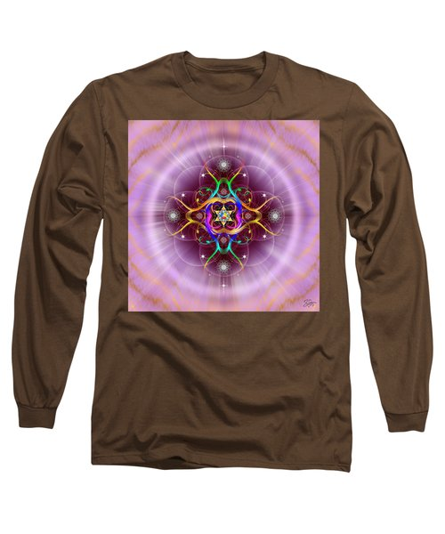 Sacred Geometry 757 Long Sleeve T-Shirt