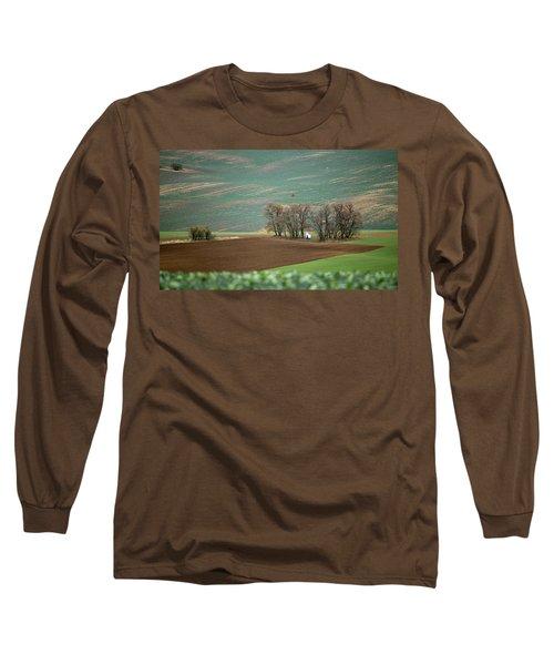 Long Sleeve T-Shirt featuring the photograph Saint Barbara Chapel, Moravia 17 by Dubi Roman