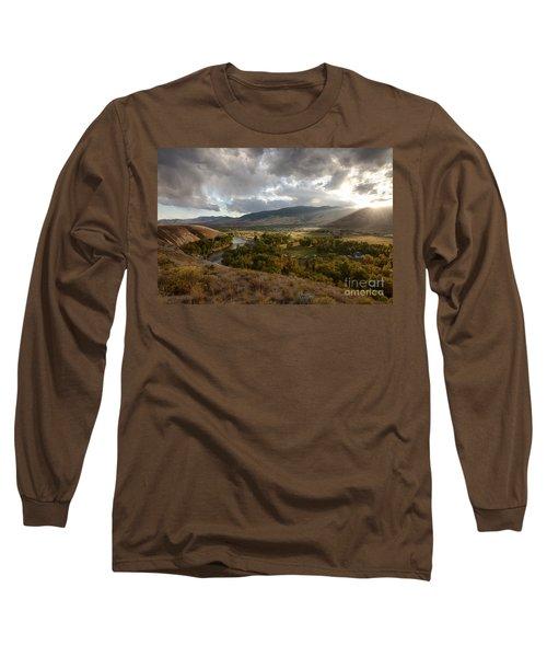 Salmon Valley Sun Long Sleeve T-Shirt