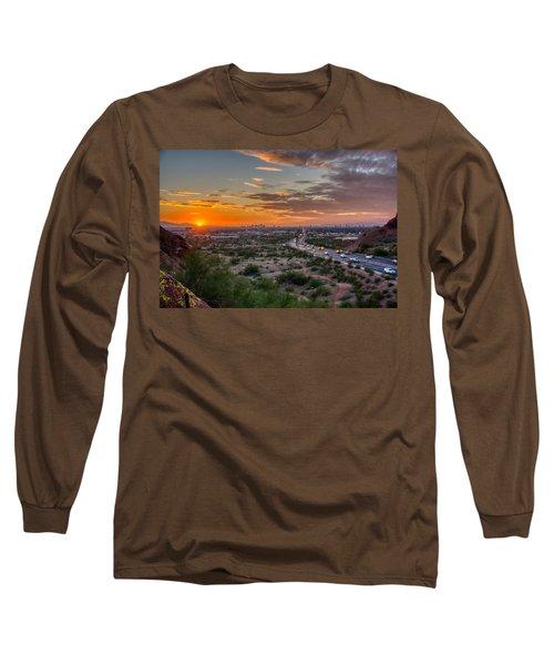 Scottsdale Sunset Long Sleeve T-Shirt