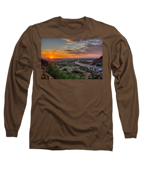 Scottsdale Sunset Long Sleeve T-Shirt