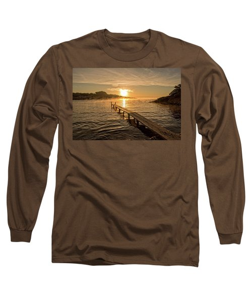 Sespanyol Beach In Ibiza At Sunrise, Balearic Islands Long Sleeve T-Shirt