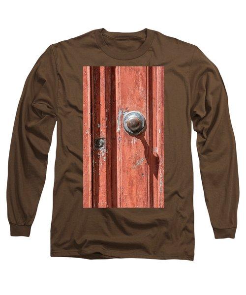 Shadow Door Of Tuscany Long Sleeve T-Shirt