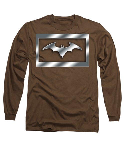 Silver Bat Transparent Long Sleeve T-Shirt