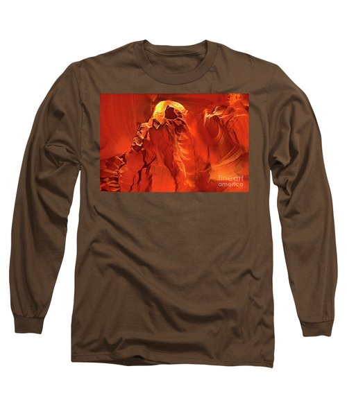 Slot Canyon Formations In Upper Antelope Canyon Arizona Long Sleeve T-Shirt
