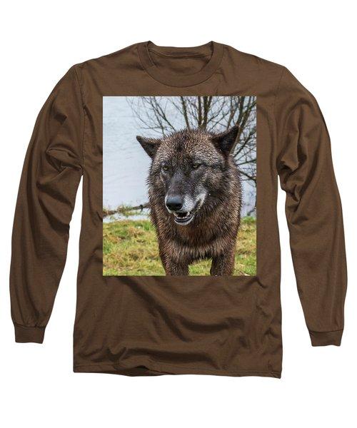 Smiling Long Sleeve T-Shirt