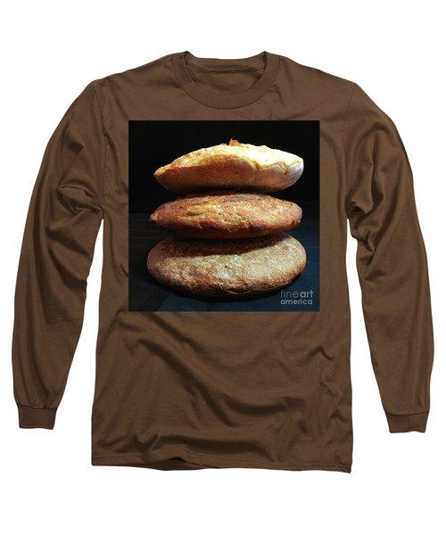 Sourdough Bread Stack 1 Long Sleeve T-Shirt