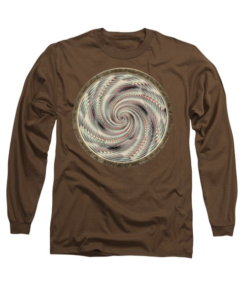 Spinning A Design For Decor And Clothing Long Sleeve T-Shirt