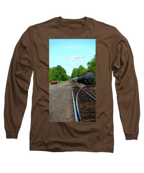 Split Rail Long Sleeve T-Shirt