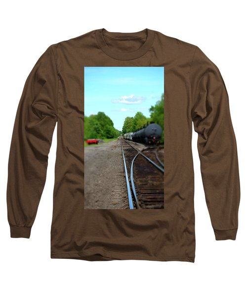 Split Rail Long Sleeve T-Shirt