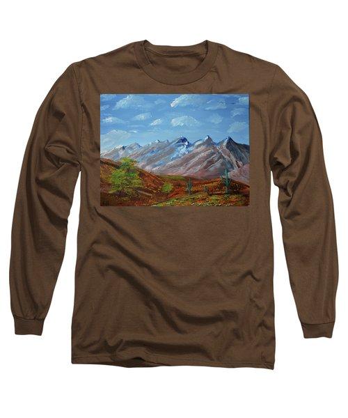 Spring Comes To Southern Arizona Long Sleeve T-Shirt