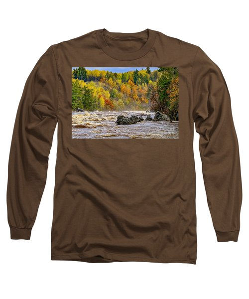St. Louis River At Jay Cooke Long Sleeve T-Shirt