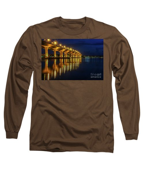 Starburst Bridge Reflection Long Sleeve T-Shirt