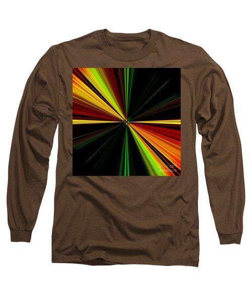 Starburst Light Beams Design - Plb461 Long Sleeve T-Shirt