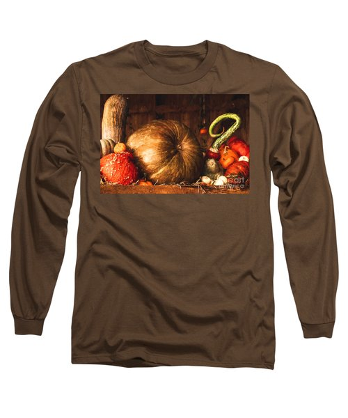 Still Life With Pumpkins Long Sleeve T-Shirt