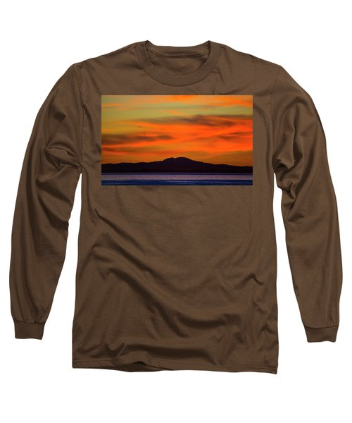 Sunrise Over Santa Monica Bay Long Sleeve T-Shirt