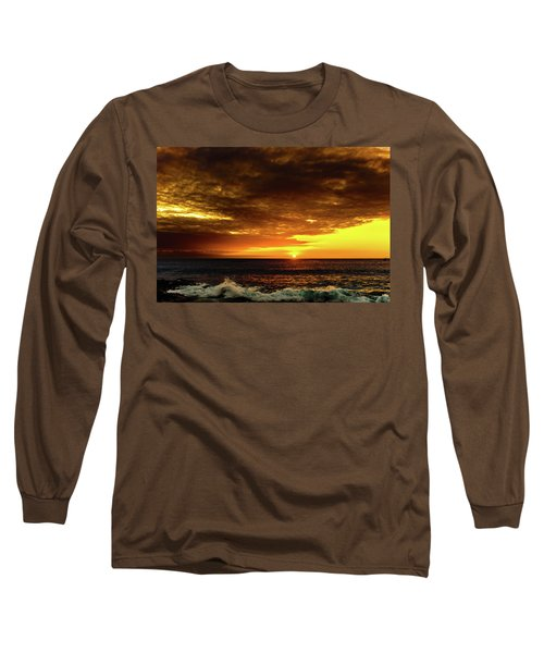 Sunset And Surf Long Sleeve T-Shirt