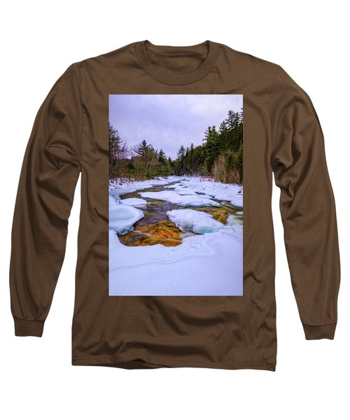 Swift River Winter  Long Sleeve T-Shirt