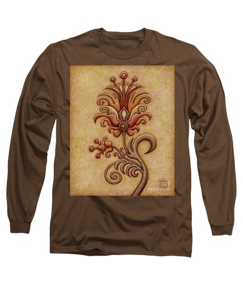 Tapestry Flower 7 Long Sleeve T-Shirt