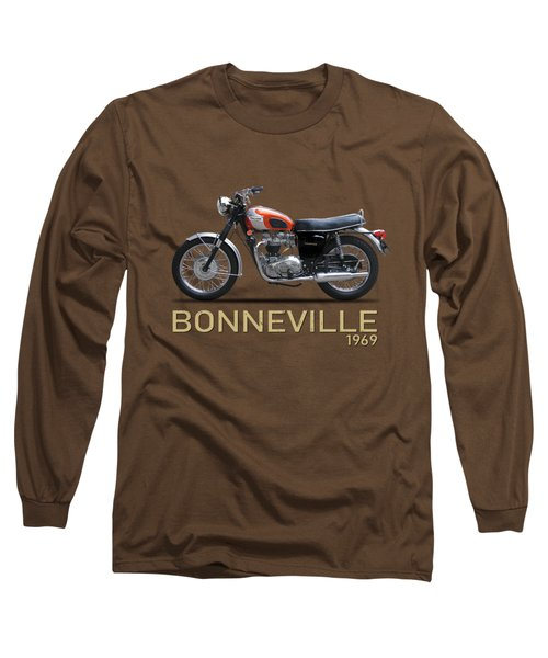 The 1969 Triumph Bonneville Long Sleeve T-Shirt