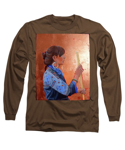The Black Hmong Princess Long Sleeve T-Shirt