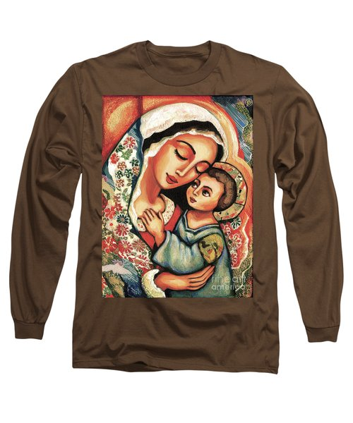 The Blessed Mother Long Sleeve T-Shirt