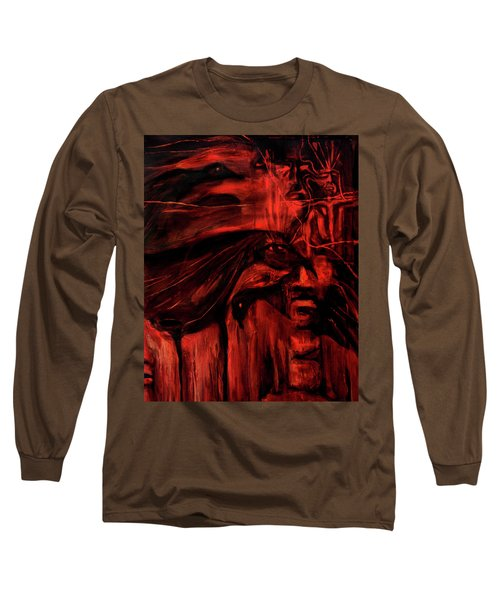 The Shap Shifters Call Long Sleeve T-Shirt