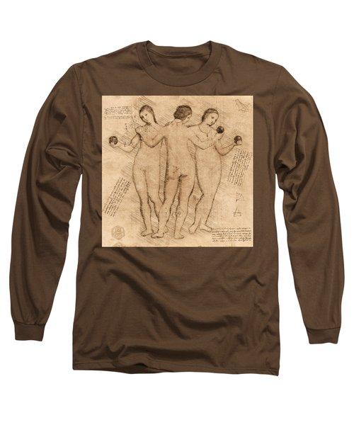 Three Graces - II Long Sleeve T-Shirt