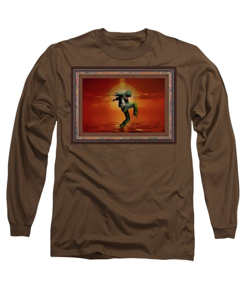 Tip Toe Dancer Long Sleeve T-Shirt