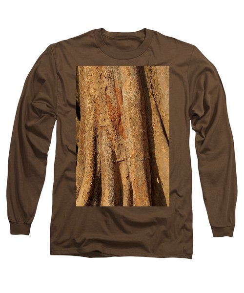 Tree Trunk And Bark Of Chambak Long Sleeve T-Shirt