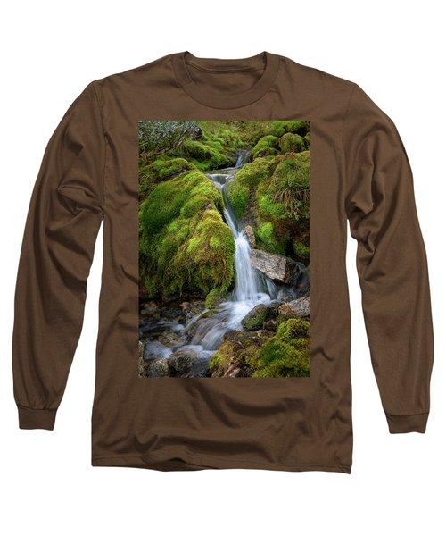 Tufteelvi, Norway Long Sleeve T-Shirt