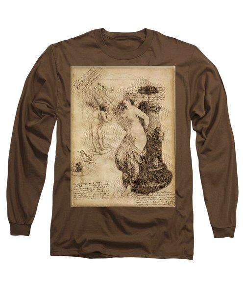Venus Weigh Cupid Long Sleeve T-Shirt