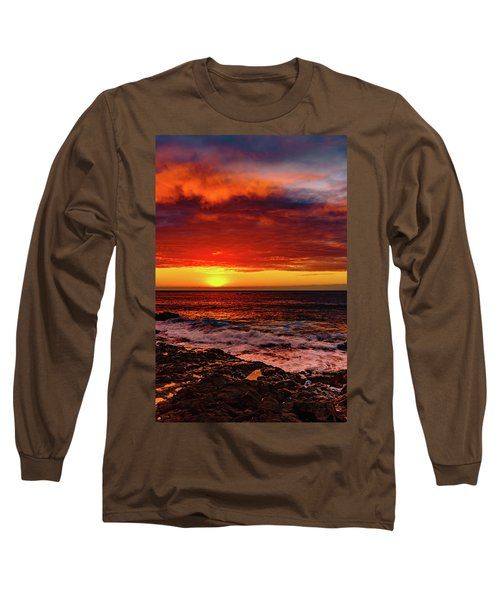 Vertical Warmth Long Sleeve T-Shirt