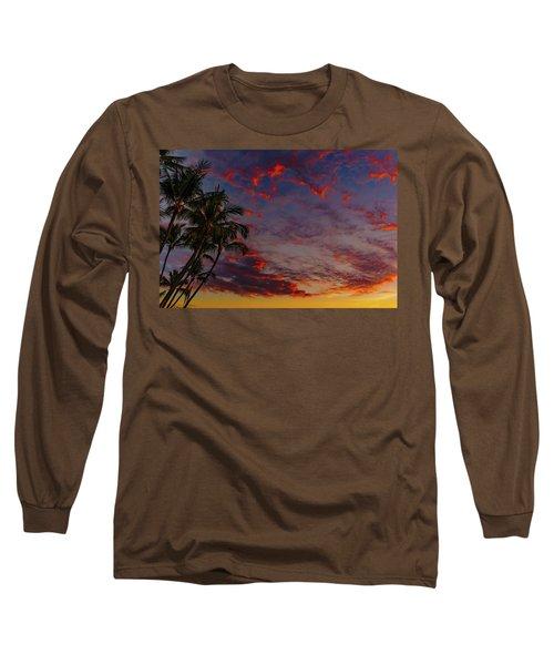 Warm Sky Long Sleeve T-Shirt
