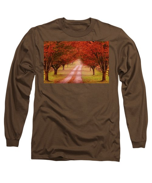 Way To The Farm Long Sleeve T-Shirt