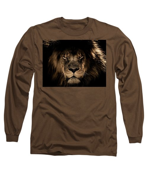 Wise Lion Long Sleeve T-Shirt